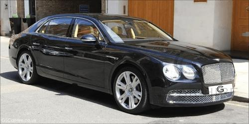 Bentley Chauffeur Driven Cars London Bentley Mulsanne Flying Spur - Bentley chauffeur