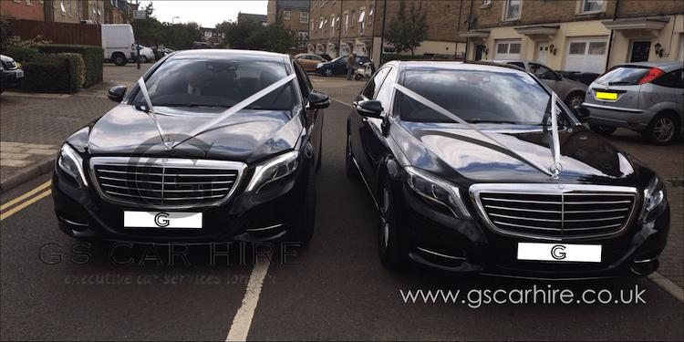 Chauffeur-driven London Wedding Cars