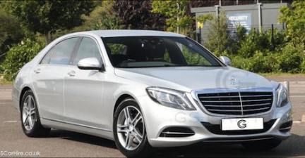 Mercedes-Benz S Class Chauffeurs London