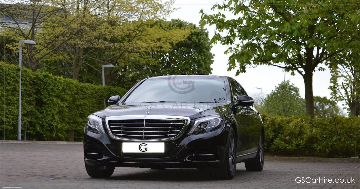 Mercedes benz s class chauffeurs in london gs car hire for Mercedes benz gs