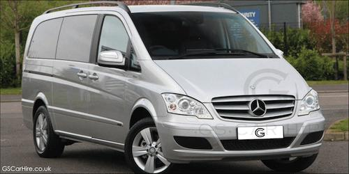 Royal Ascot Chauffeur Services with Viano / V Class Mercedes