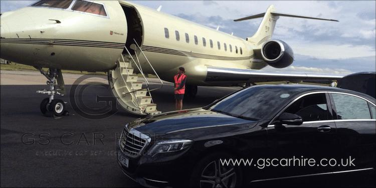 Chauffeur-driven London Airport Transfers