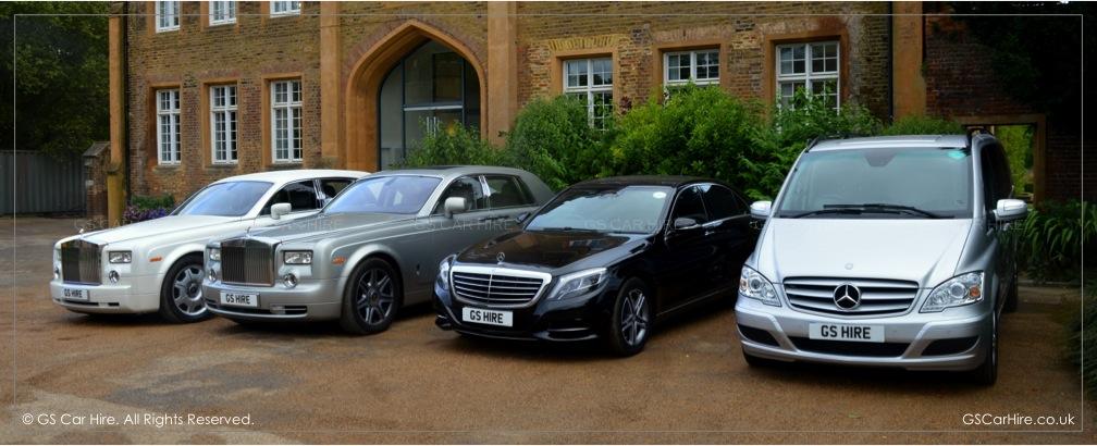 London Chauffeur Driven Cars - Prestige & Luxury Vehicles - GS Car