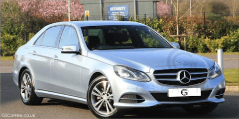 Mercedes-Benz E Class Chauffeurs London