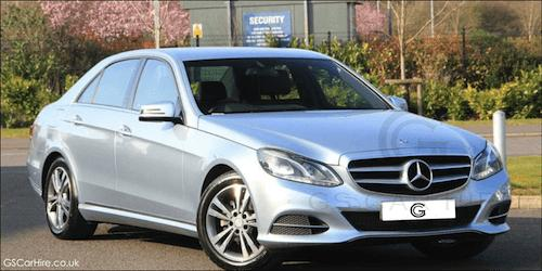 Royal Ascot Chauffeur Services with E Class Mercedes