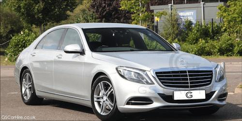 Royal Ascot Chauffeur Services with S Class Mercedes